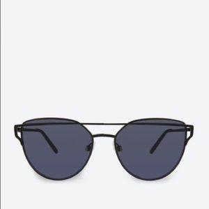 Aldo Qilalla Wire Aviator Wing Cat Eye Sunglasses